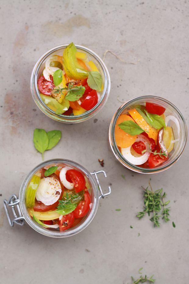 Salade de tomates5 JUSTE UNE SALADE DE TOMATES {BATTLE FOOD #9}