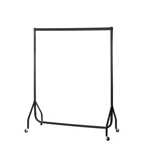 Heavy Duty Clothes Rail Garment Rail 4ft Long x 5ft High SUPERIOR QUALITY The Shopfitting Shop