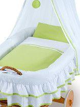 Romantic baby bed: hand made wicker crib, ecoligical standard.  Cuna bebe romantica: moisés en cesta de mimbre hecho a mano. Estandar ecologico. In 4 - 10 days at your home (DHL, 19€). DORMOLINO - www.cama-bebe.com