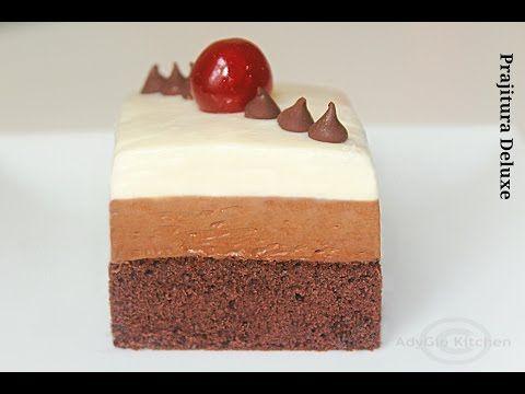 Prajitura Deluxe - Prajituri de casa Adygio Kitchen - YouTube