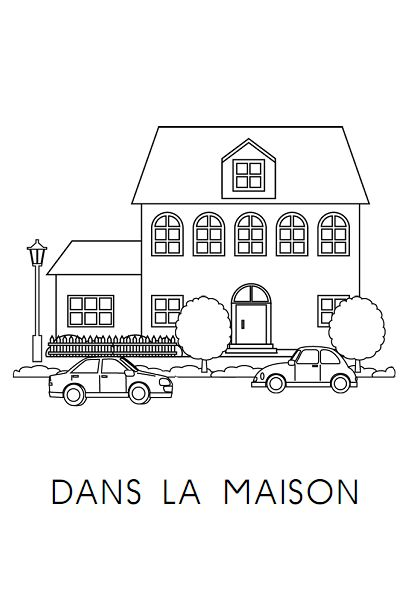 23 best FLE- Maison images on Pinterest French lessons, Teaching