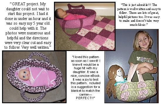 Baby Doll CarrierCrafts Ideas, Sewing Projects, Sewing Ideas, Baby Dolls Carriers, Girls Sewing