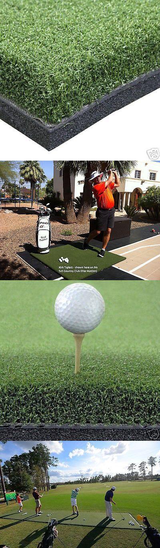 Nets Cages and Mats 50876: Golf Mats 4X5 Premium Golf Practice Mat - Tee Mat - Golf Chipping Mat Mats 2Nd -> BUY IT NOW ONLY: $334 on eBay!