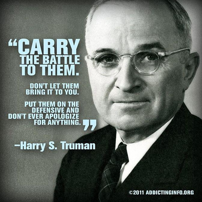 president harry s truman one of the greatest quotes of all time