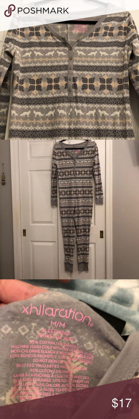 NWOT WOMANS ONESIE NWOT. Woman's onesie! Perfect for winter! Comes from a smoke free home. Size: M Xhilaration Intimates & Sleepwear Pajamas