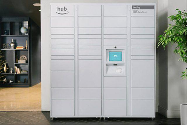 The Hub el sistema de Amazon para resolver los problemas de entrega de mensajería