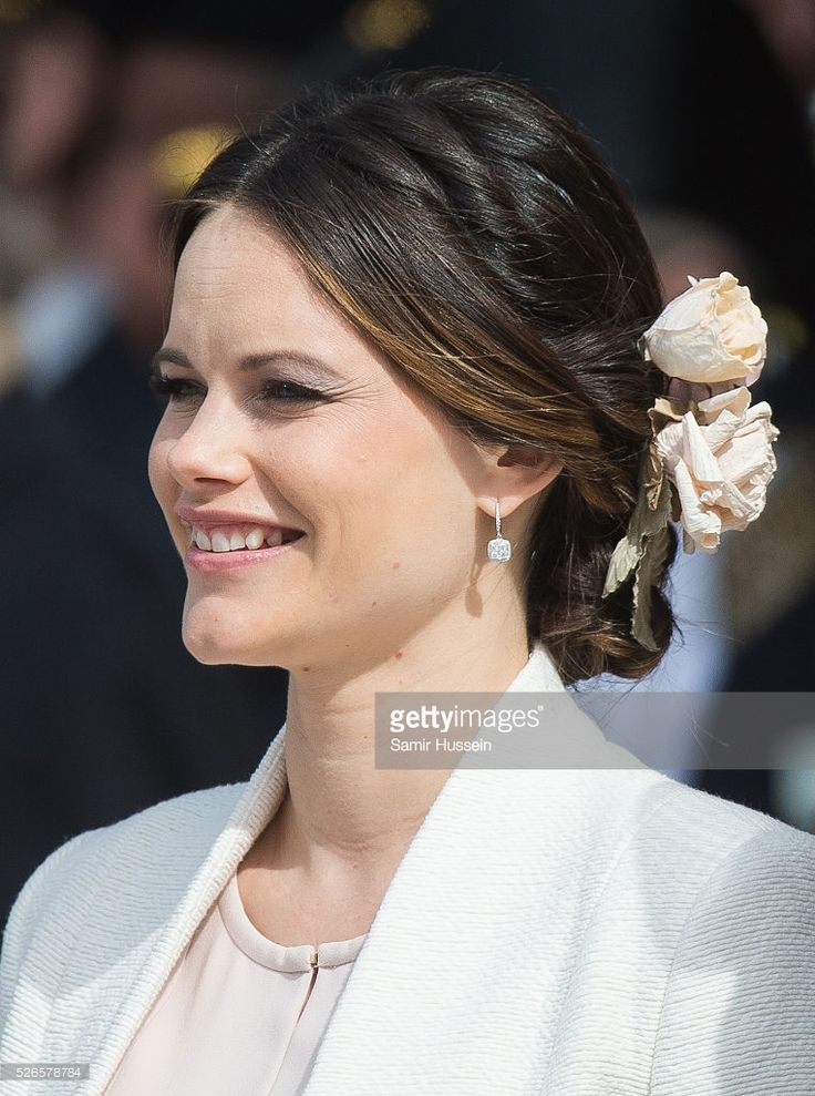 Princess Sofia of Sweden attends the celebrations of the Swedish Armed Forces for the 70th birthday of King Carl Gustaf of Sweden on April 30, 2016 in Stockholm, Sweden.  (Photo by Samir Hussein/WireImage)