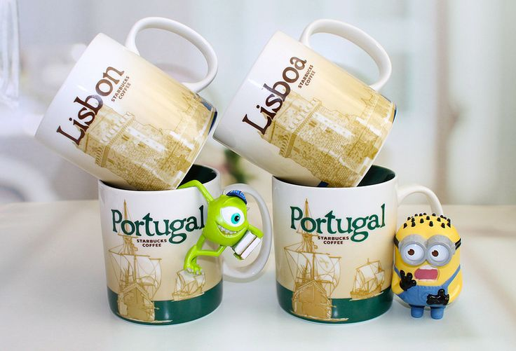 Starbucks Portugal mugs
