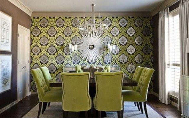 M s de 25 ideas incre bles sobre comedor elegante en for Comedor wallpaper