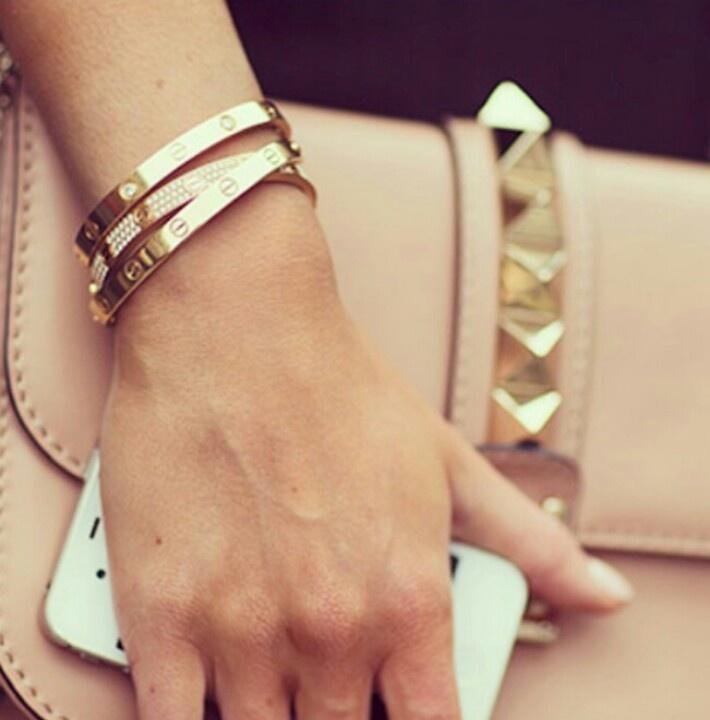 Stainless Steel Love Bracelet - V & V Jewels