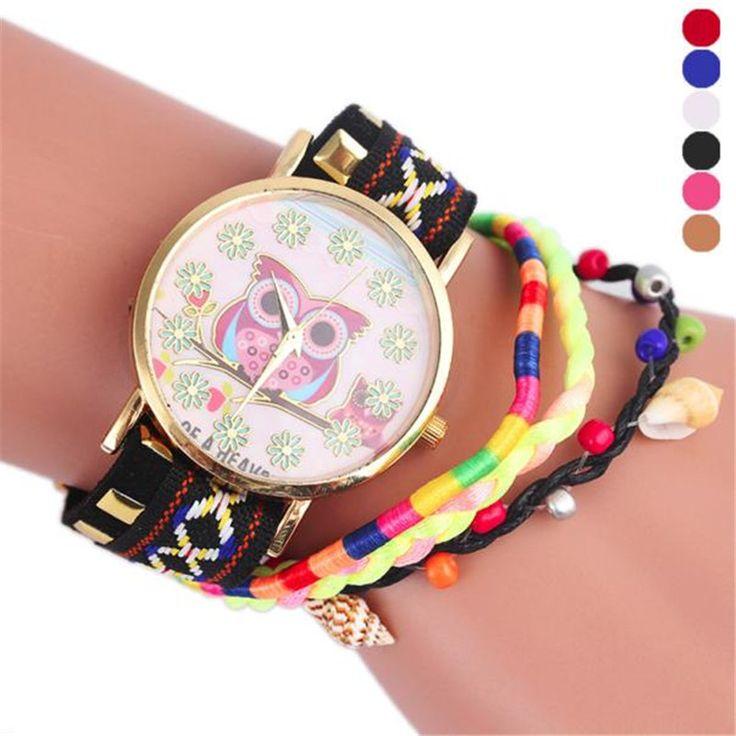 $5.13 (Buy here: https://alitems.com/g/1e8d114494ebda23ff8b16525dc3e8/?i=5&ulp=https%3A%2F%2Fwww.aliexpress.com%2Fitem%2FNew-Women-s-Bracelet-Owl-Pattern-Knitting-Dial-Quartz-Casual-Wrist-Watch-Bracelet-Watch-dress-multi%2F32788466414.html ) New Women's Bracelet Owl Pattern Knitting Dial Quartz Casual Wrist Watch Bracelet Watch dress multi color relogios wholesale  for just $5.13