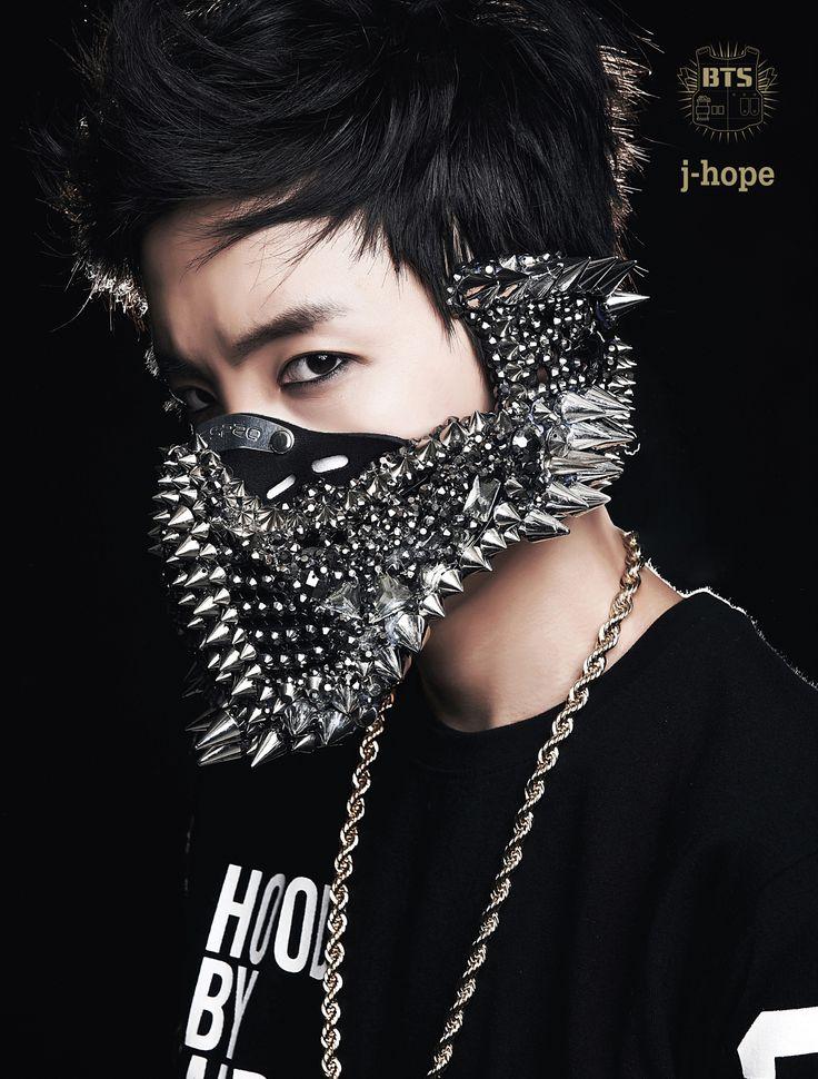 BTS's 1st Album photo shoot, 2 Cool 4 Skool, 2013. (J-hope)