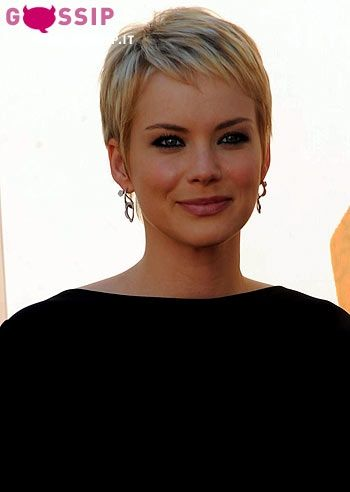 Andrea Osvart pixie haircut