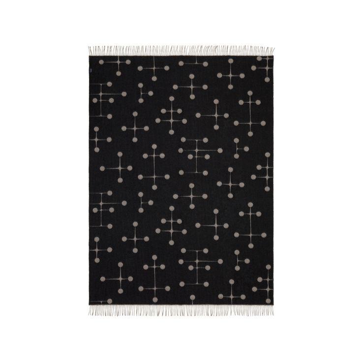 Eames Wool pläd - Eames Wool pläd - svart
