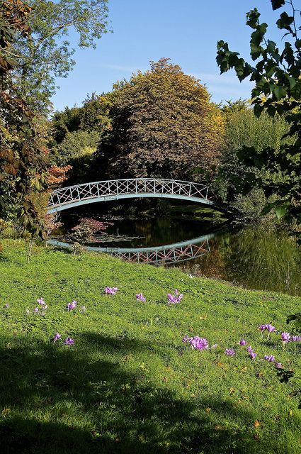Chippenham Park Gardens, Cambridgeshire, England