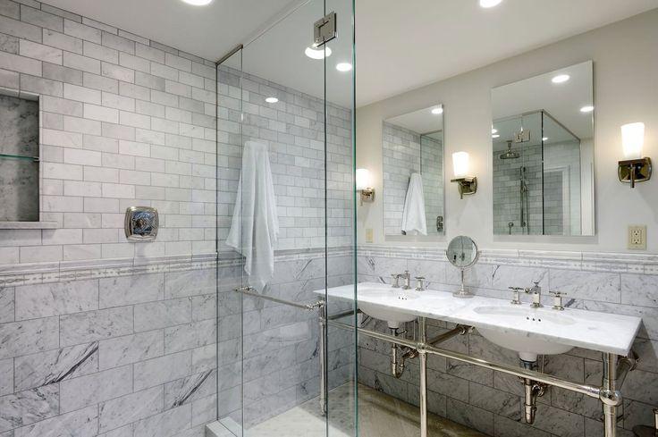 Серая плитка в ванной комнате: особенности, фото-1