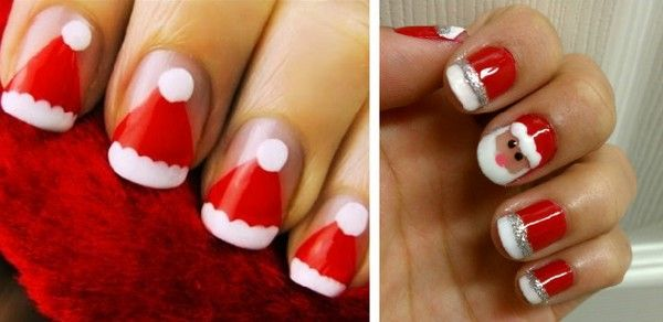 Christmas Nail Art Designs 2012