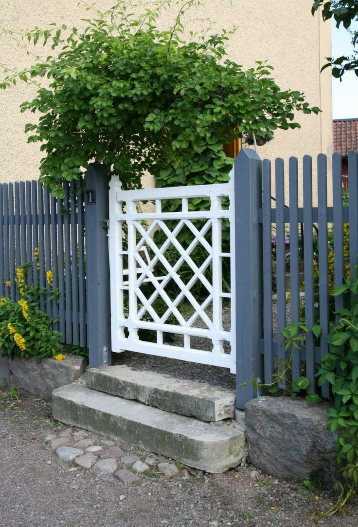 runga av staket