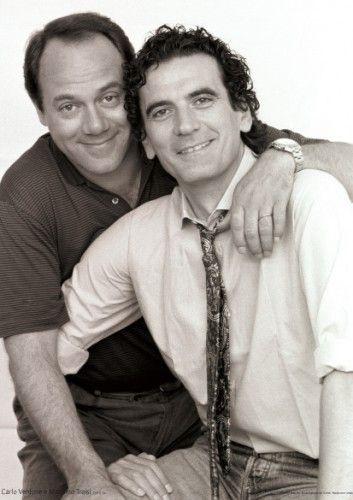 CARLO VERDONE e MASSIMO TROISI