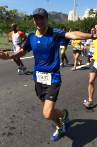 Christophe Lorvo Property is the GM at the Grand Hyatt Rio de Janeiro and will run the Chicago Marathon to support St. Jude Children's Research Hospital.
