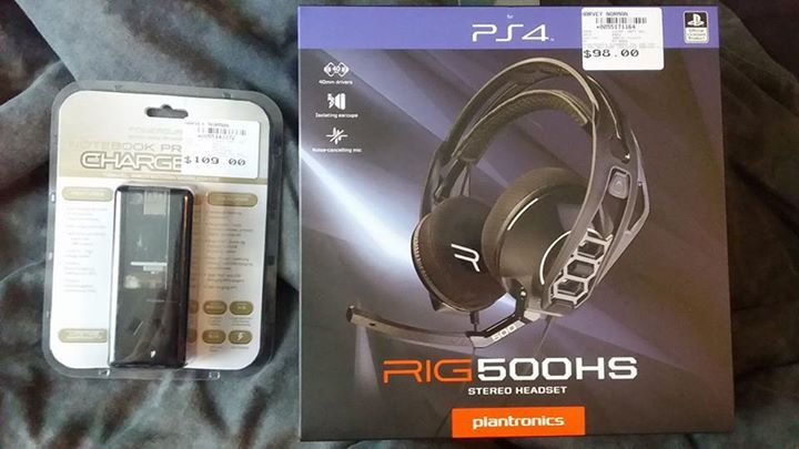 For sale: PS4 headset and surge protected adapter with 2 usb outlets. Both brand new, came in a package with my ps4 but I don't need them. Selling $80 each, or $150 for both #rangloo, #bar, #accessories