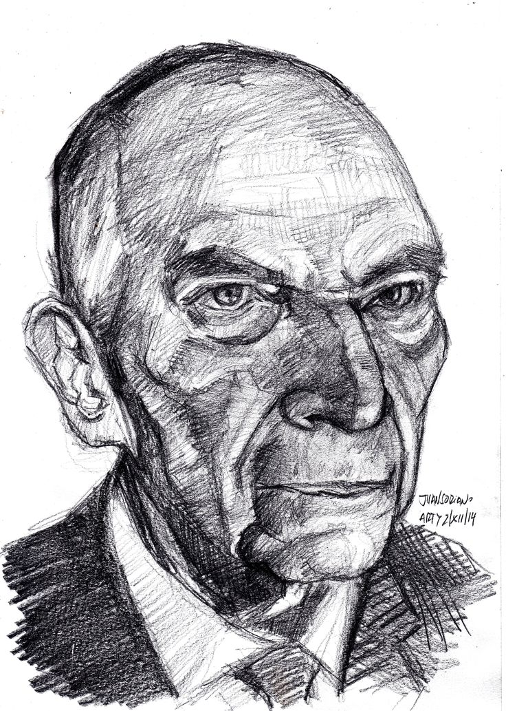 Juan Soriano. pencil 4B