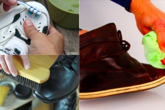 5 ASTUCES POUR NETTOYER SES CHAUSSURES
