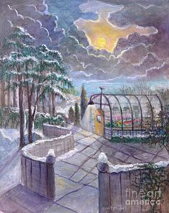 Painting - The Soul In Winter by Randol Burns
