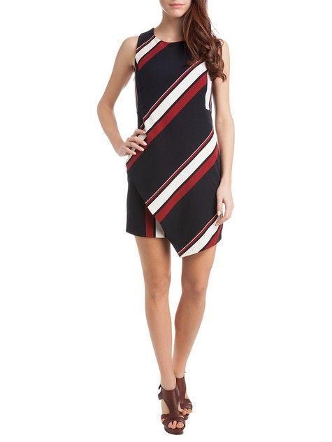 Mini dress con incrocio dietro  #MotiviFashion su http://www.motivi.com/it/shop-online/in-evidenza/spring-summer-preview/mini-dress-con-incrocio-dietro.html