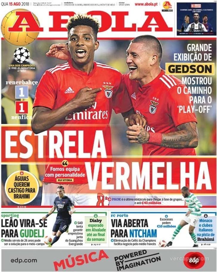 A Bola Sport Lisboa E Benfica As Monaco Bola