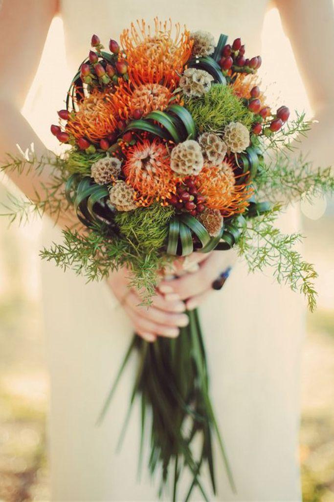16 beautiful Fall Wedding Bouquets  ~  we ❤ this! moncheribridals.com…