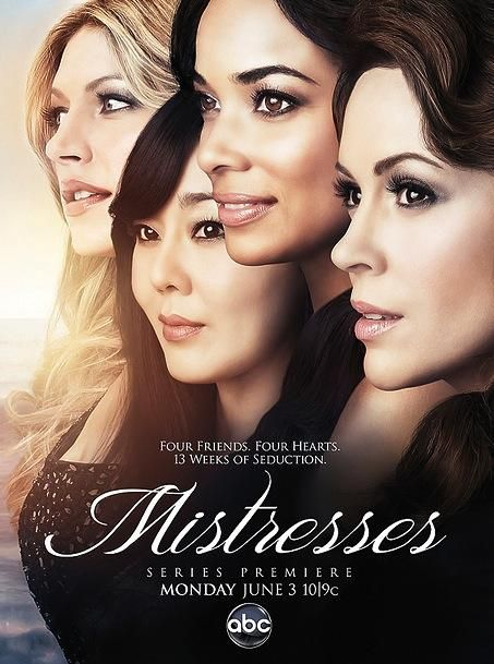 Mistresses ~ once again a UK show gets an American do over. I haven't seen the original, so I can't compare, but I really enjoyed the first season. Melodrama to the max, ridiculous story lines and beautiful people making stupid choices also man what a perfect cliffhanger!? Can't wait for more; total guilty pleasure.