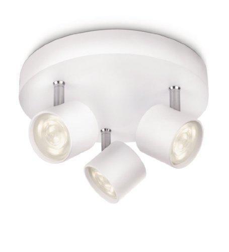 Oferta: 31.84€ Dto: -53%. Comprar Ofertas de Philips myLiving Star - Barra de focos, 3 luces, iluminación interior para salón o habitación, LED integrado, aluminio barato. ¡Mira las ofertas!