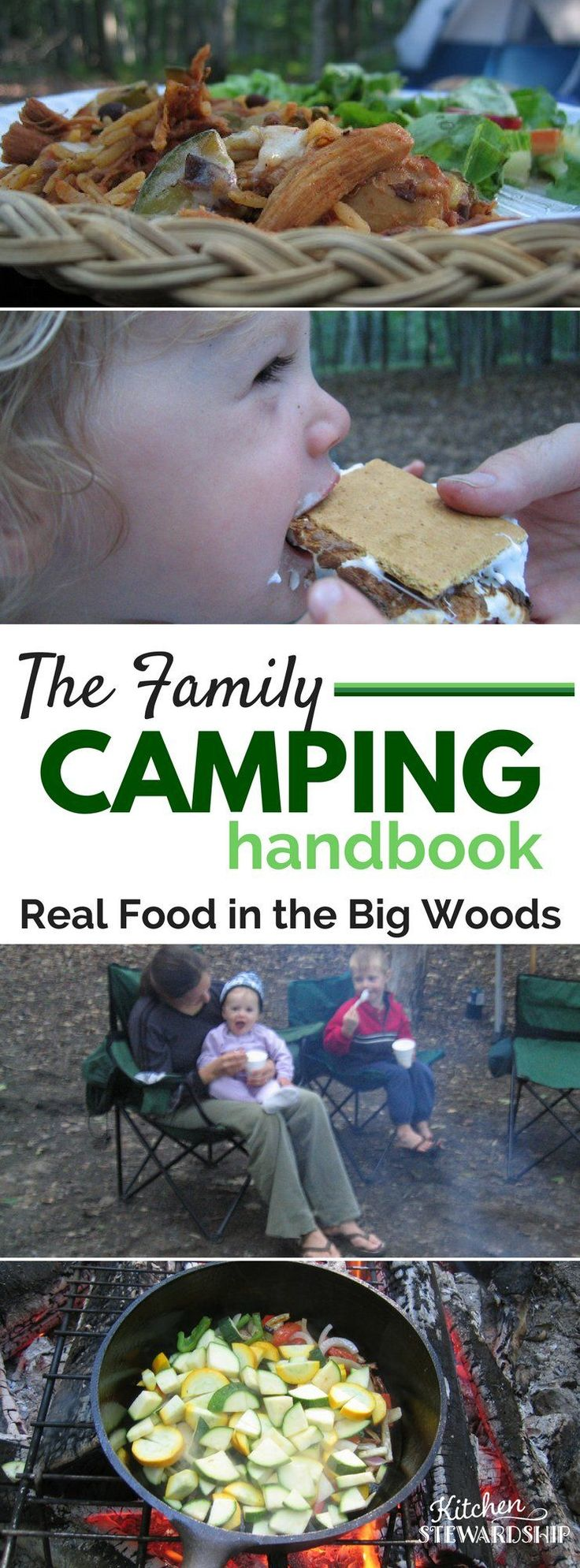 The Family Camping Handbook: Eat Healthy Around The Camp Fire