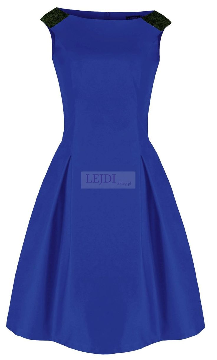 Sukienka w stylu retro - Aundrey Hepburn - 7 kolorów, mon 156 - widziane w mediach : Hot Moda