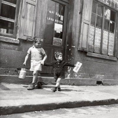 Rue Marcellin - Robert Doisneau