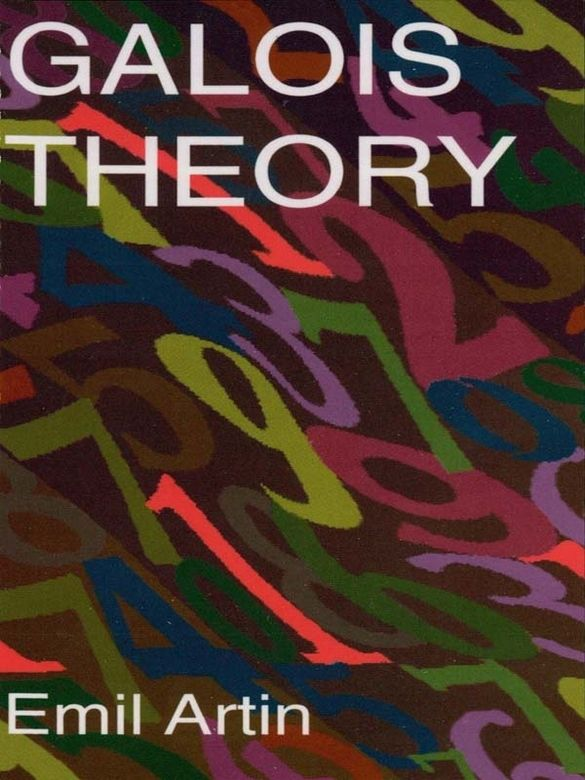Galois Theory by Emil Artin    In the nineteenth century, French mathematician Evariste Galois developed the Galois theory of groups-one of the most penetrating concepts in modem mathematics. The elements of the theory are clearly presented in this second, revised edition of a volume of lectures delivered by noted mathematician Emil Artin. The book has been edited by Dr. Arthur N. Milgram, who has also supplemented the work with a Section on Applications.The first...