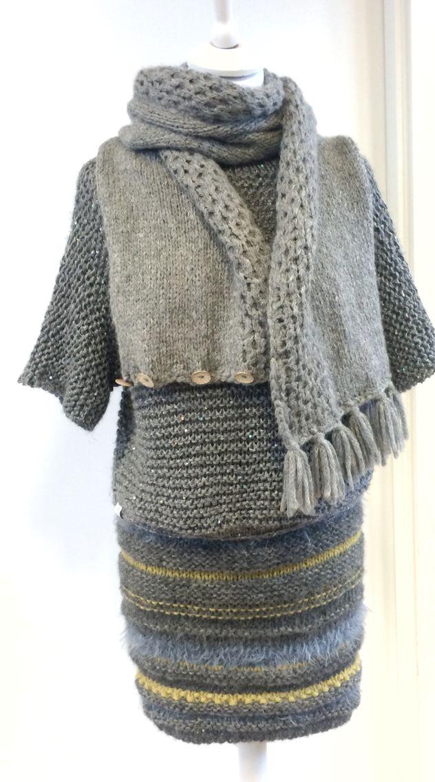 Lunt høst skjørt // autumn skirt from Varm design