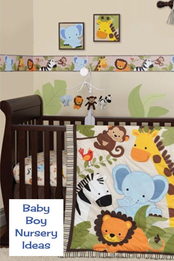 Unique Baby Nursery Theme for Baby Boy - Jungle Nursery Theme