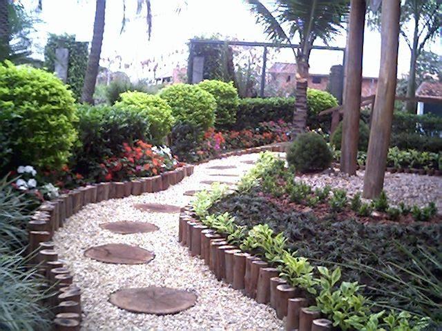 25 melhores ideias de jardins decorados no pinterest for Lindos jardines pequenos