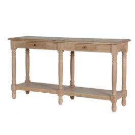 Predsieňový stolík Washed Oak