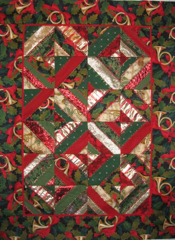 232 best Christmas Quilts images on Pinterest | Advent calendar ... : quilt for christmas - Adamdwight.com
