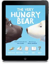 The Very Hungry Bear Wheelbarrow PreK-2 bears, differences