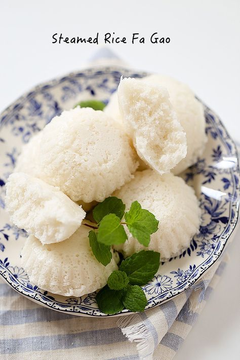 steamed rice cake- rice fa gao