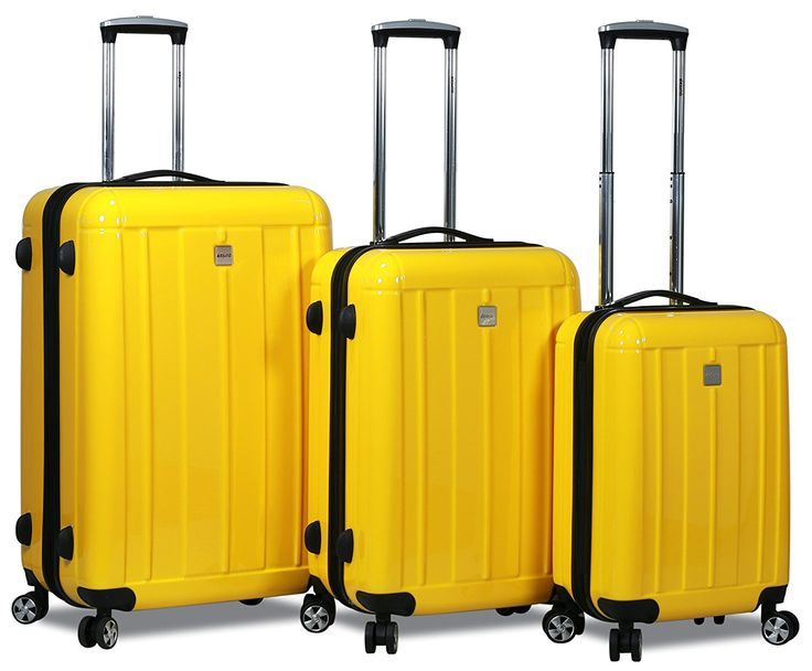 HiPack X-Treme Series 3-piece Expandable Hardshell Spinners w/ Tamper Proof TSA Lock Luggage Set *** Be sure to check out this awesome product.