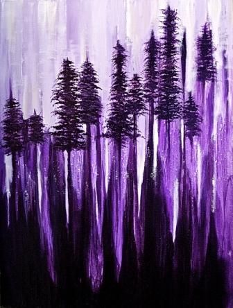 Amber Goldhammer Pine Melody   Acrylic on Canvas
