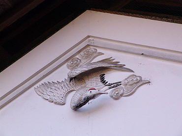 旅の途中で見た鏝絵(2) 鳥取県赤崎町光