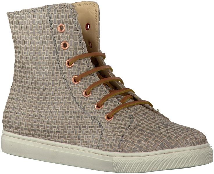 Grijze FRETONS sneakers 203112