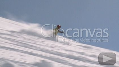 Check out this Snow Board Skiing Sport HD Stock Footage Clip. Pan shot made at day. Long shot. 2010-12-17, NEW ZEALAND.