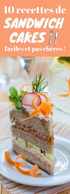 10 recettes de sandwich cakes !
